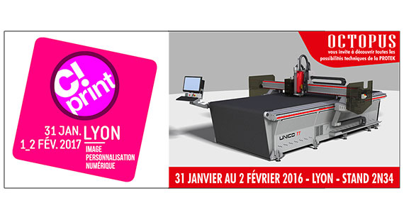 Salon C print Lyon octopus 2017